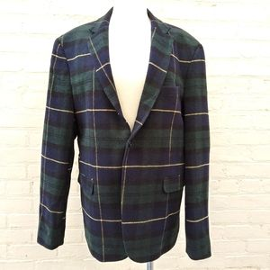 Exibit La Sartoria Men's Size US 42 Plaid Blazer